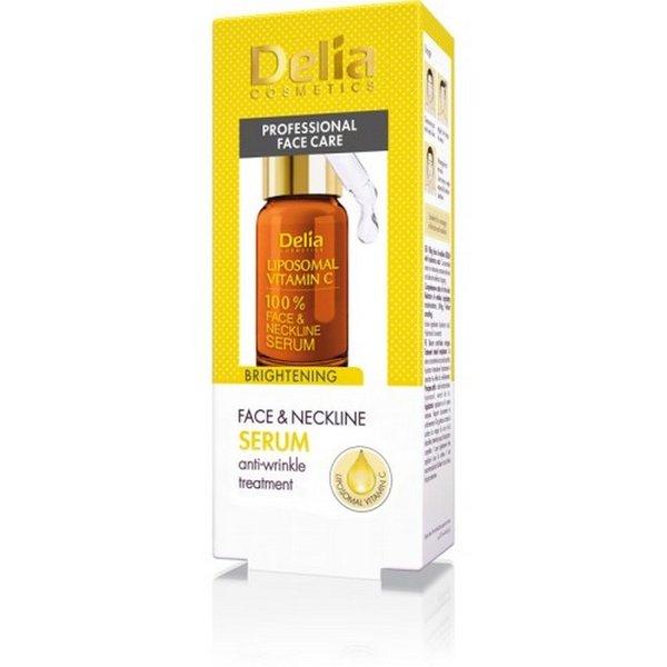 ДЕЛИЯ-Интензивен серум за лице с витамин C 10 мл.